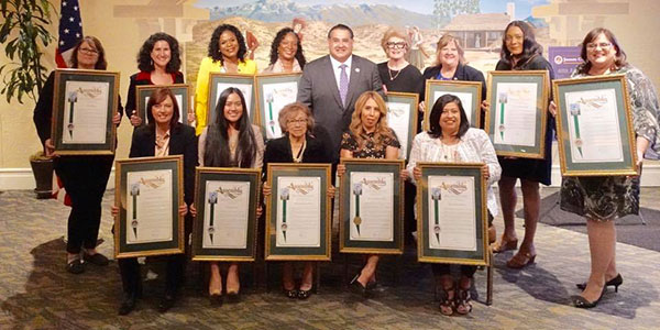 Woman of the Year and Women of Distinction