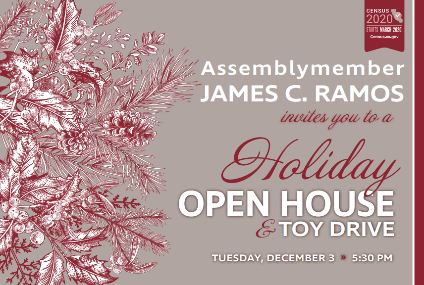District Office Holiday Open House & Toy Drive